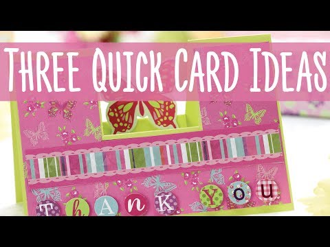 3 Quick Card Ideas (PaperCrafter Issue 110 Bumper Kit)