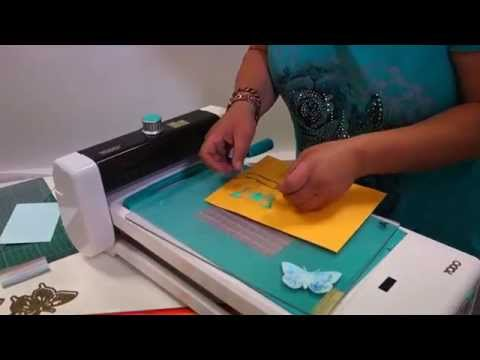 Make Hot Foil Butterfly Embellishments using the TODO