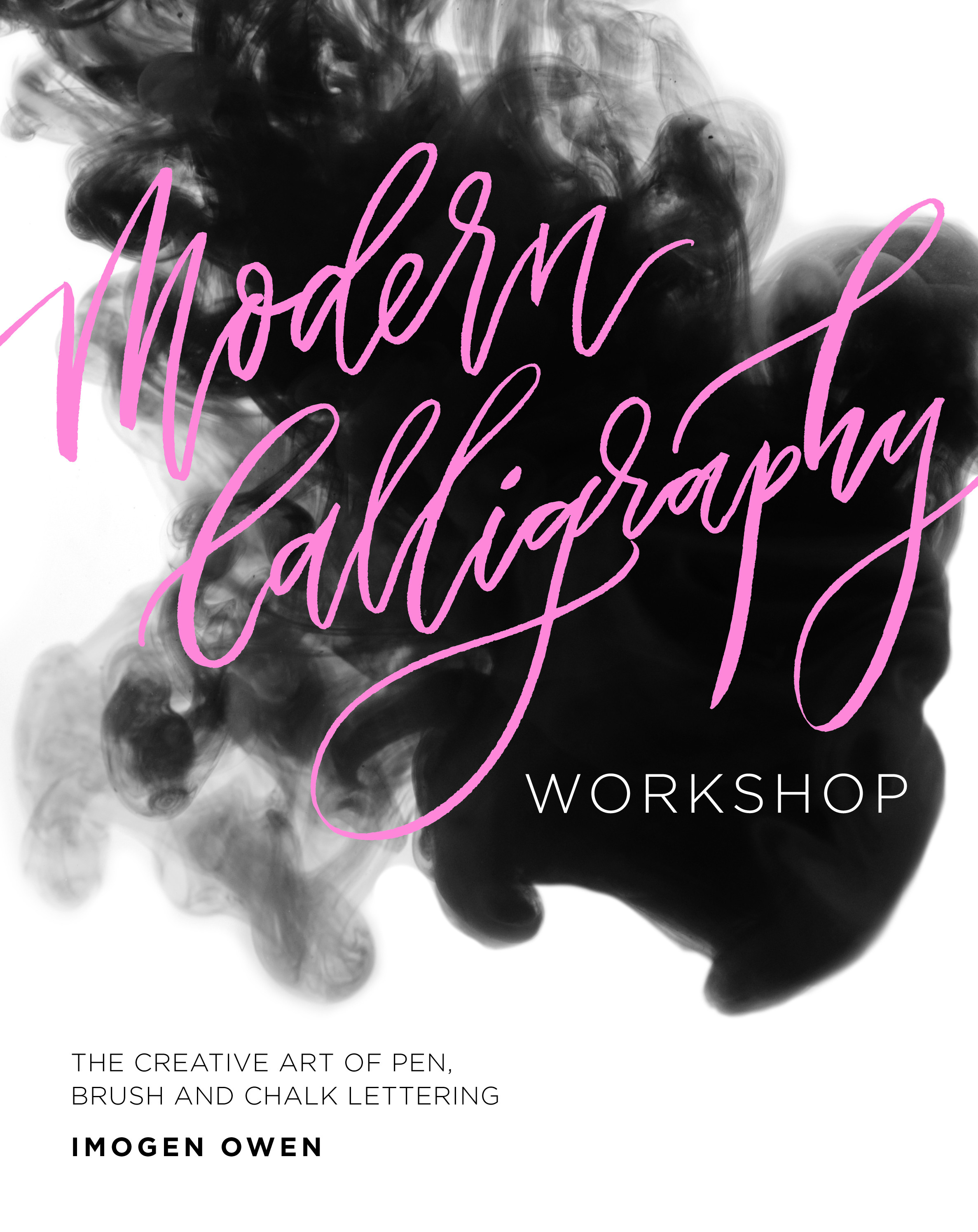 Modern Calligraphy Book Cover Imogen Owen