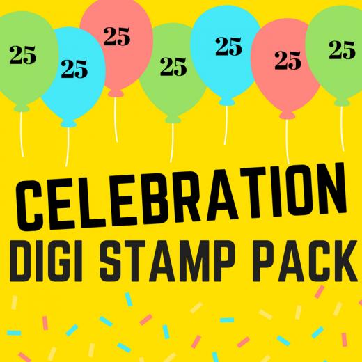 Celebration digi stamps