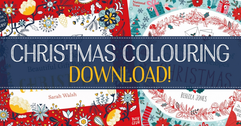 Christmas colouring books