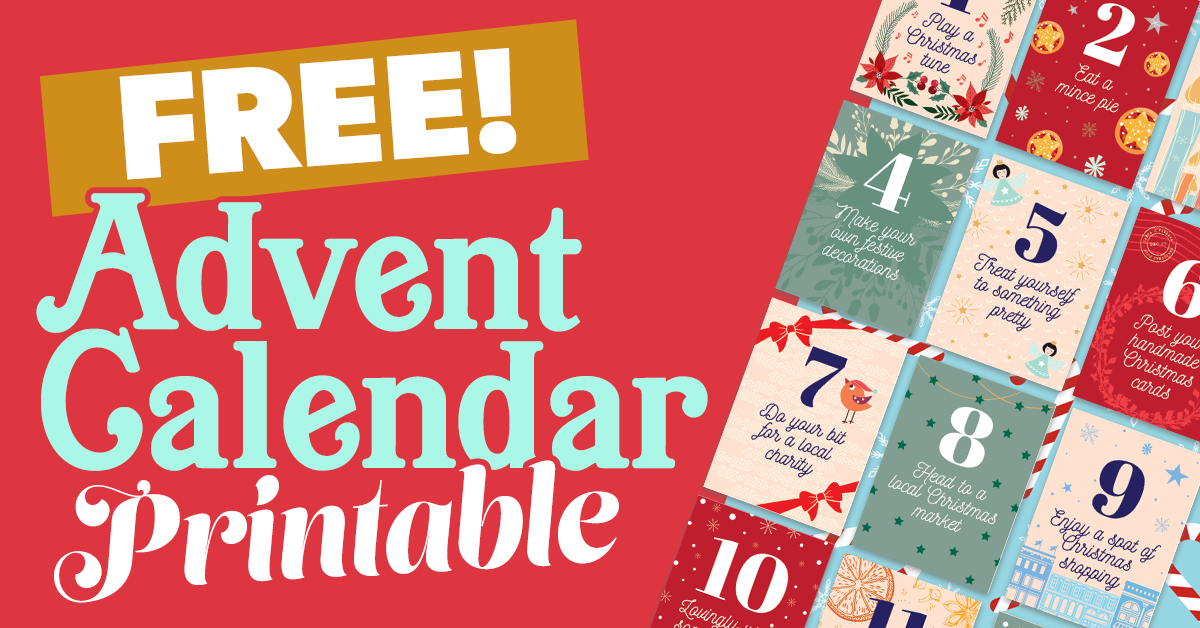 Advent Calendar Printable