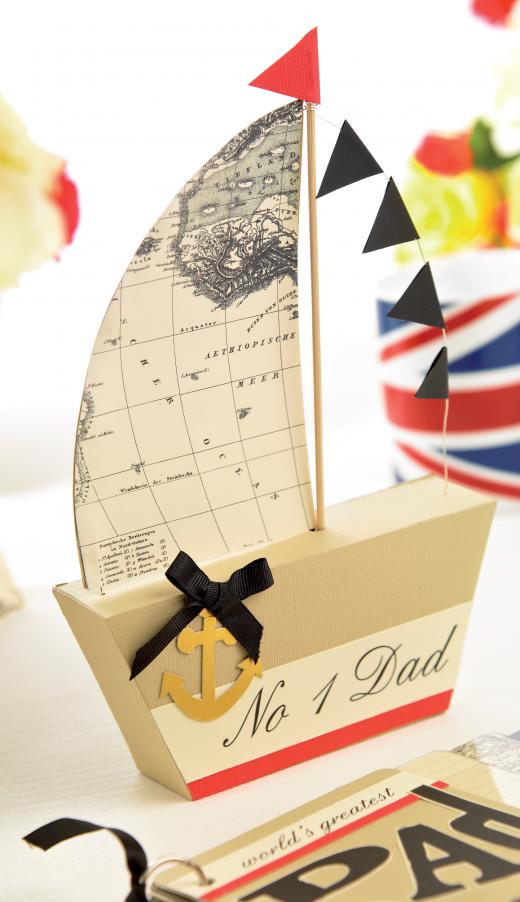 Set sail card