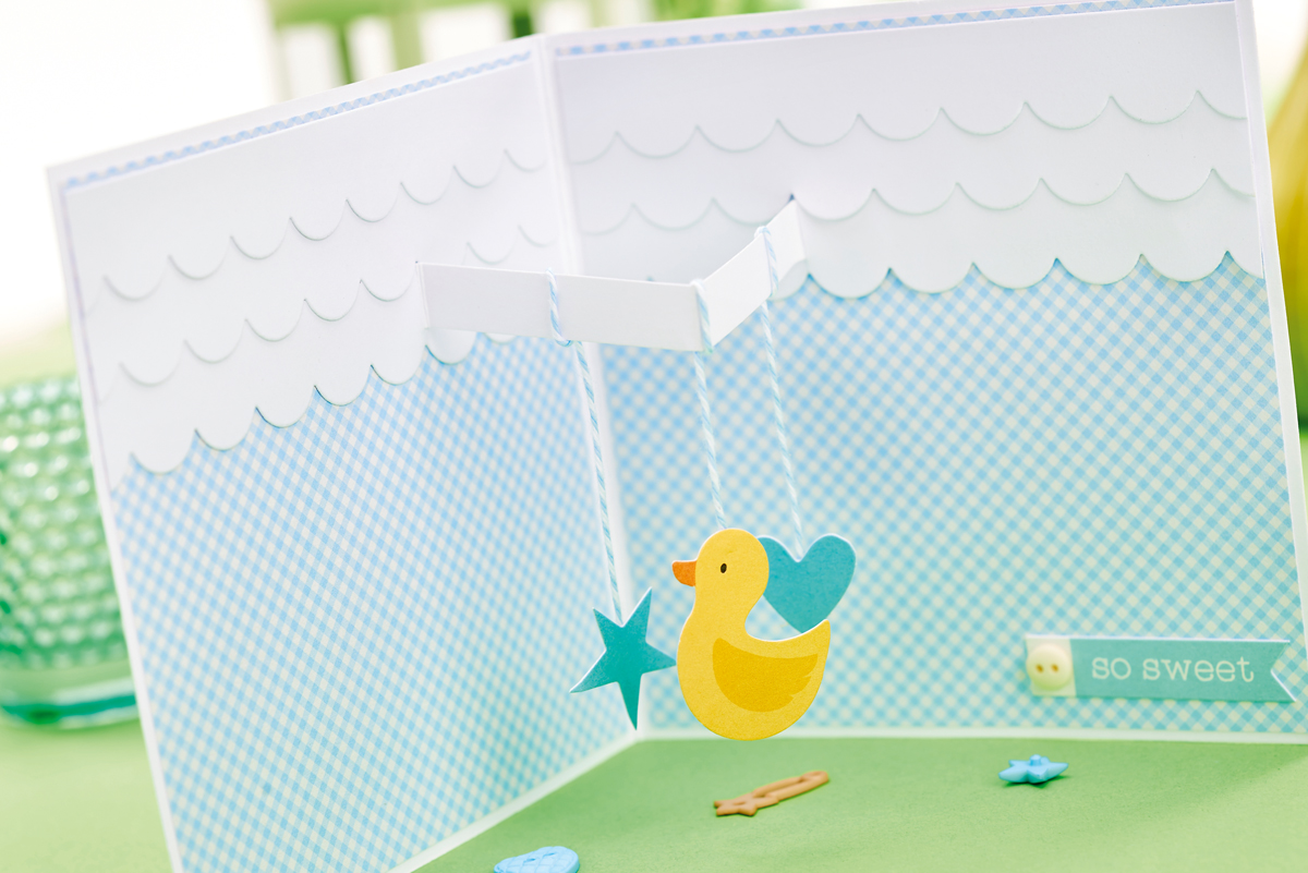 Inside baby card