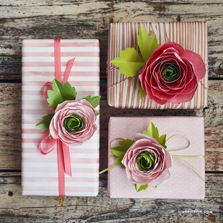 We talk paper flowers with lia griffith papercrafter blog paper ranunculus finishing touches mightylinksfo