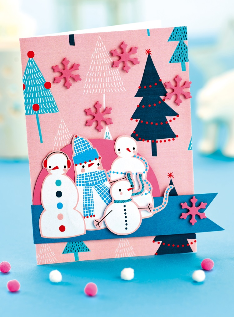 Festive Character Christmas Papers