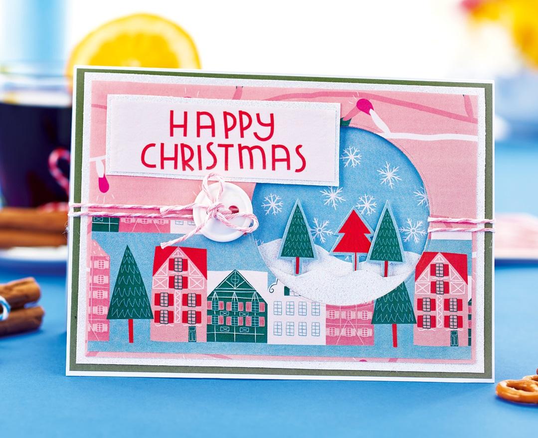 Christmas Market Card