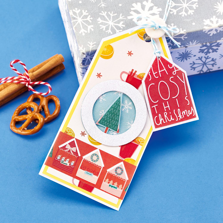 Christmas Market Gift Tag