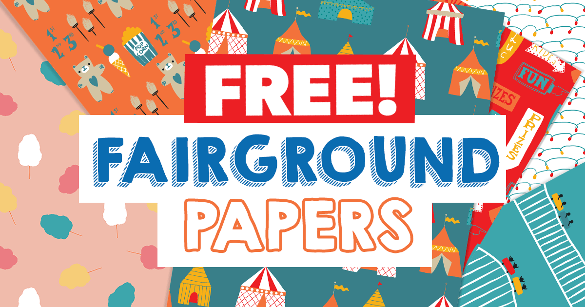 FREE Fairground Papers paper craft download
