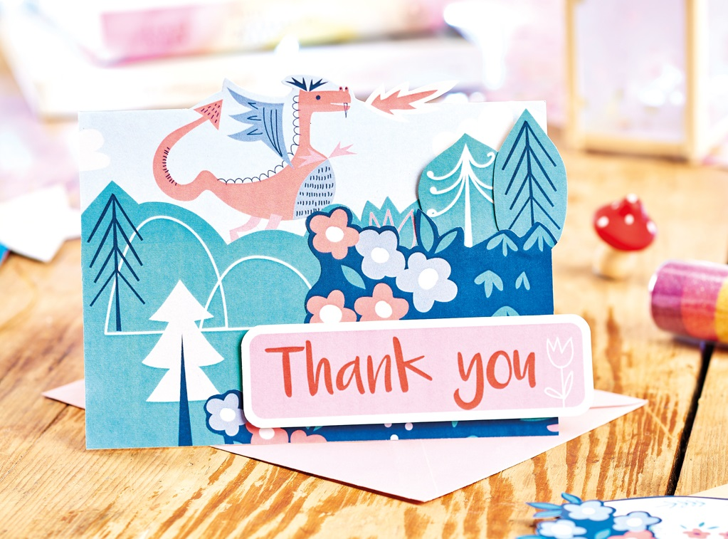 Fairytale Thank You Card