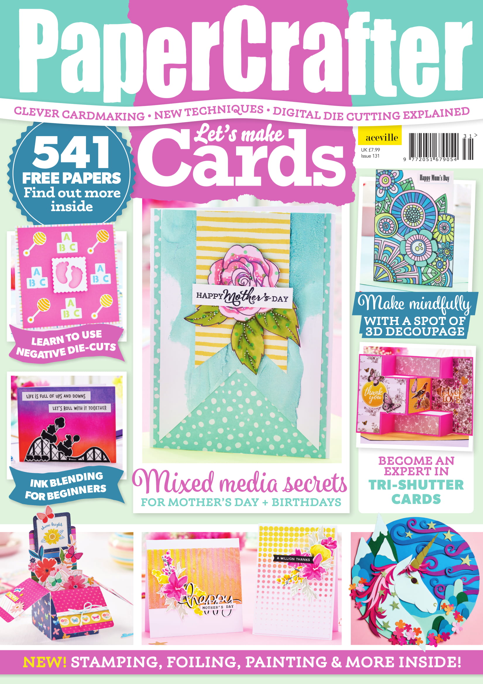 Issue 131 Templates Are Available To Download paper craft download