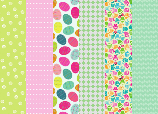free spring easter papers paper craft download