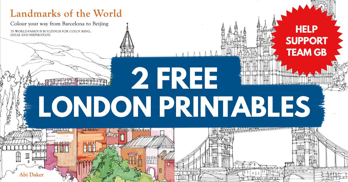 Download Two FREE London Landmark Printables Paper Craft