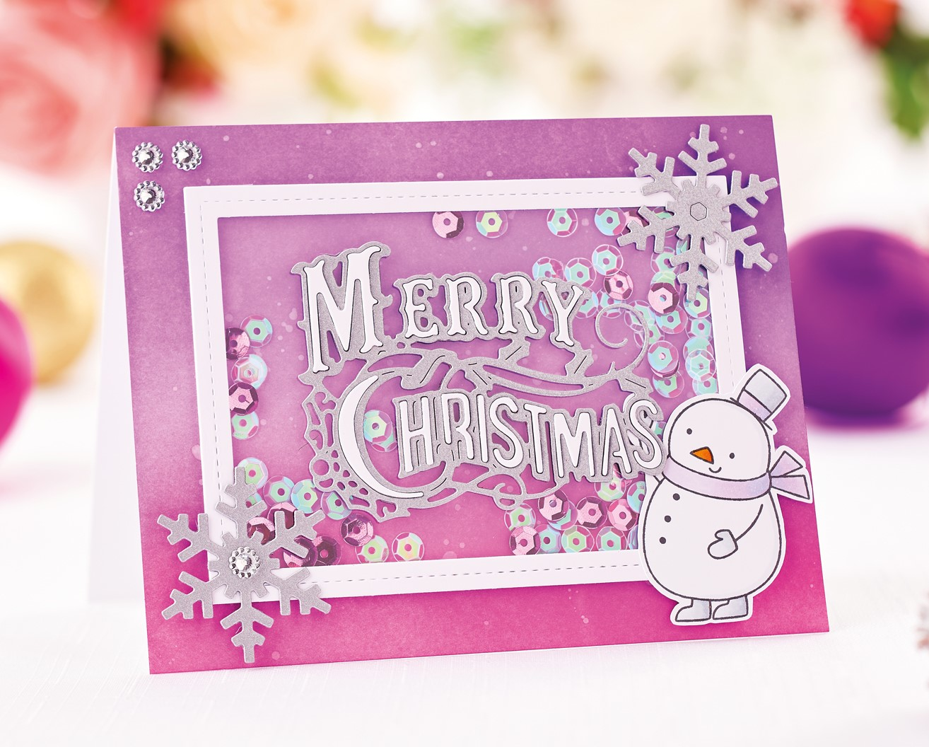 Die Cut Christmas Cards Papercrafter Project
