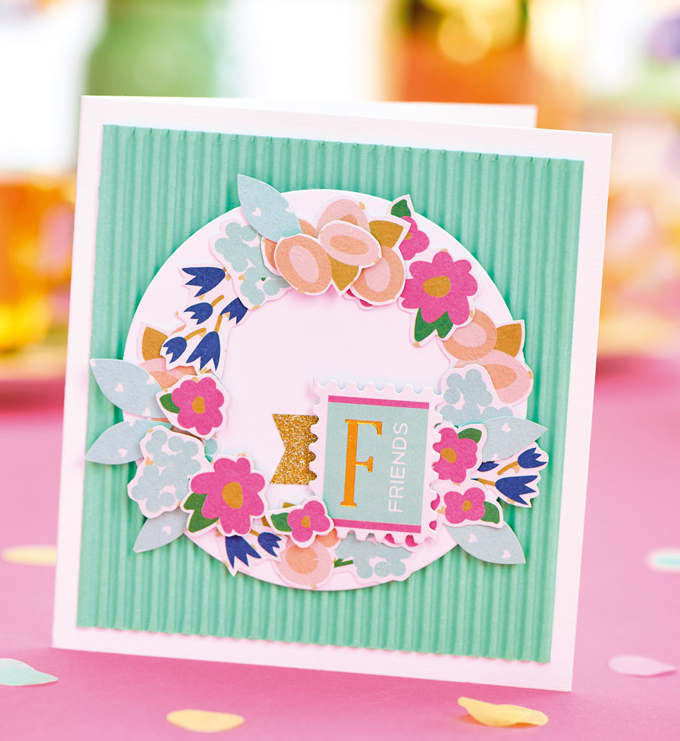 Free Floral Friend Card Project PaperCrafter project