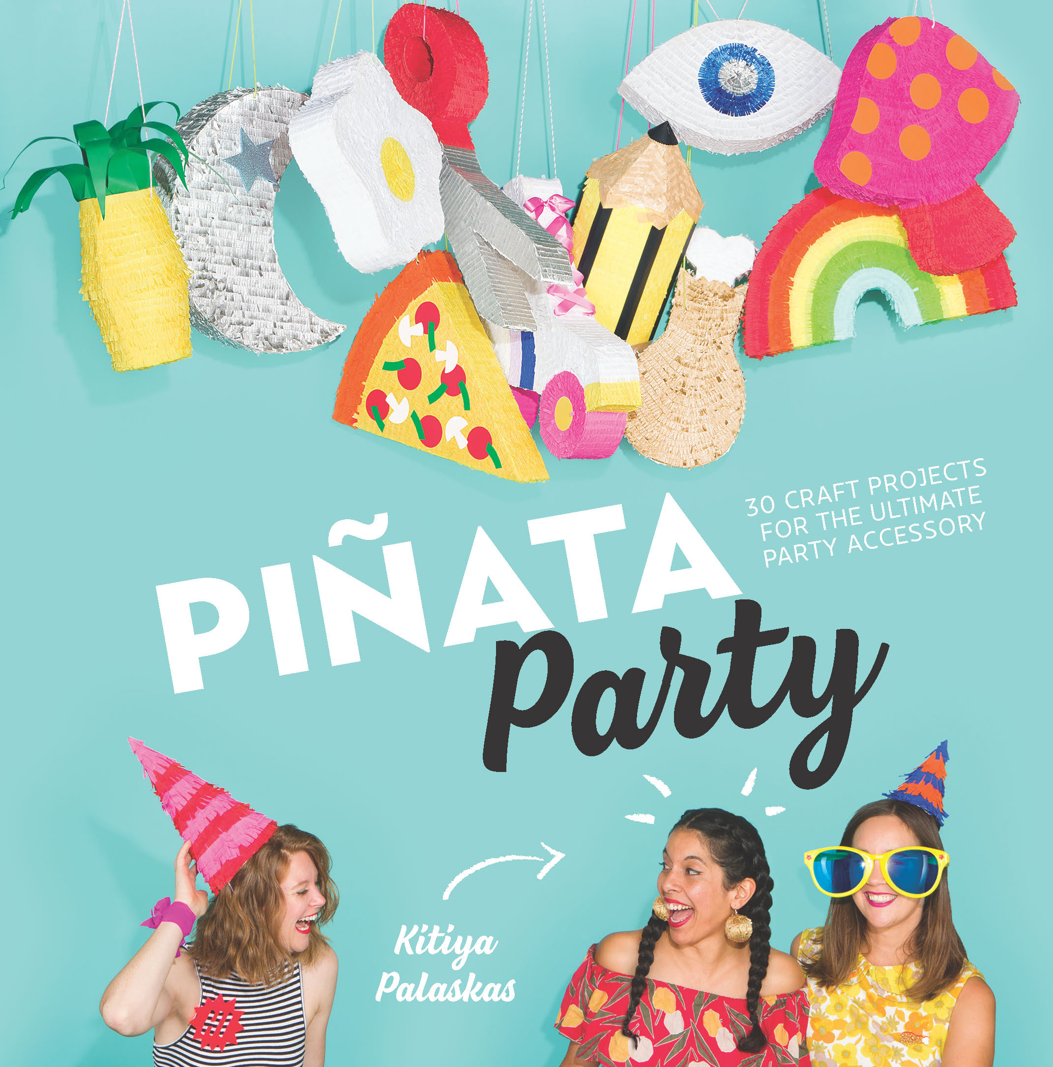 Book cover pinata party